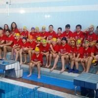 Cristina Colomo y Jesús Quintas mejores marcas de la Copa Diputación Ourense de Salvamento Deportivo