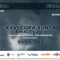 A la venta las entradas para la final de la Copa Xunta Galicia 2017 de Futbol Sala