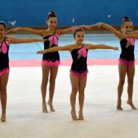 Xinzo acogió la Copa Diputación y provincial Escolar y de Promoción de Rítmica
