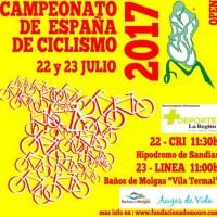 Sandiás y Molgas reciben al Campeonato de España de Ciclismo