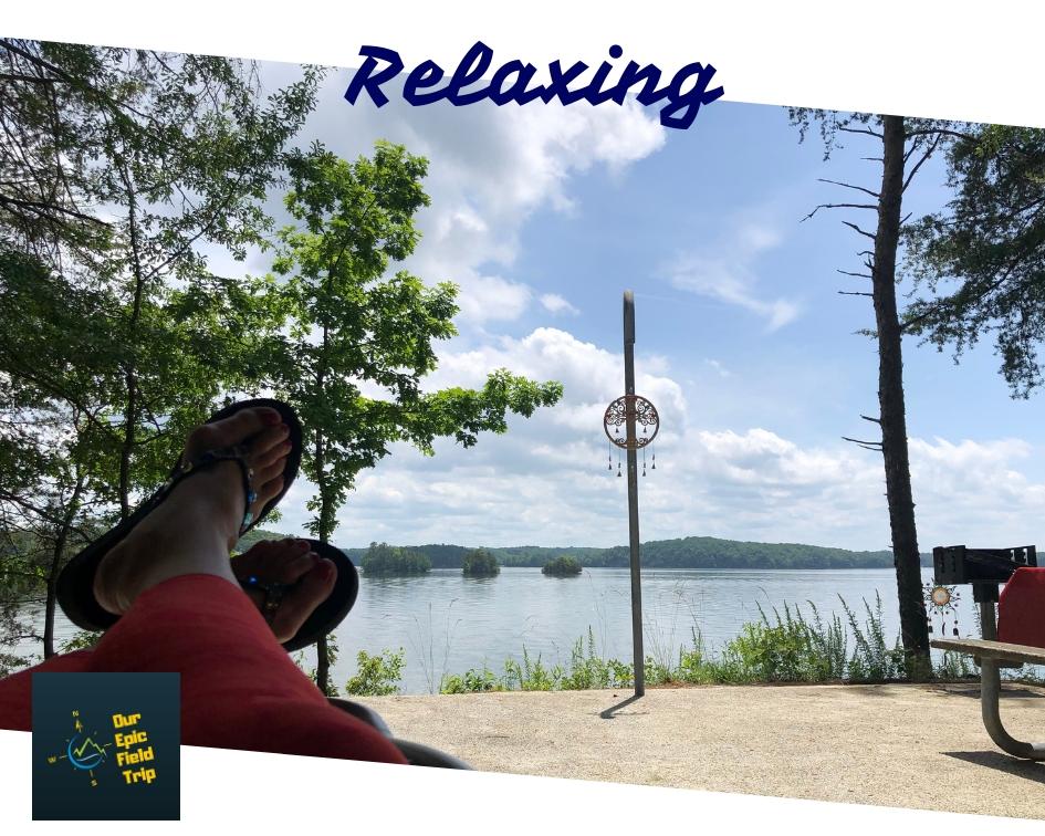 Lake Lanier Relaxing