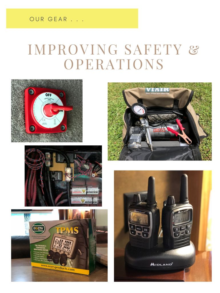 Gear to improve safety and operations