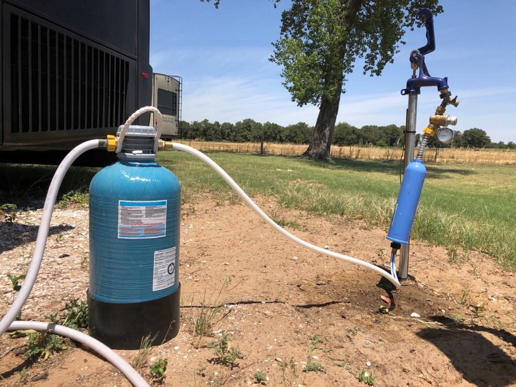 RV fresh water upgrades