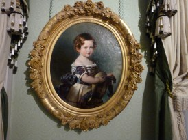 Prince Albert as a young boy in Kensington Palace