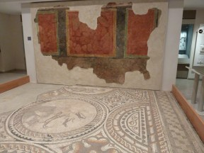 Roman Wall decoration - Corinium Museum Cirencester