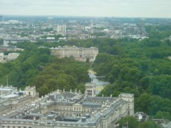 Buckingham Palace from London Eye