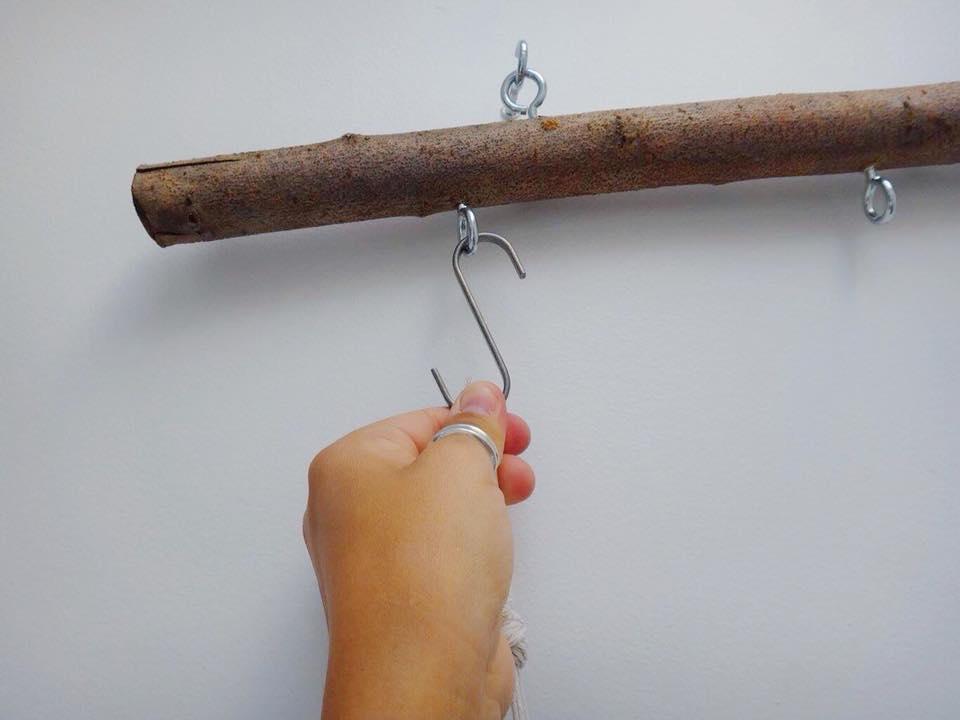 Branch Macrame Plant Hanger DIY (3)