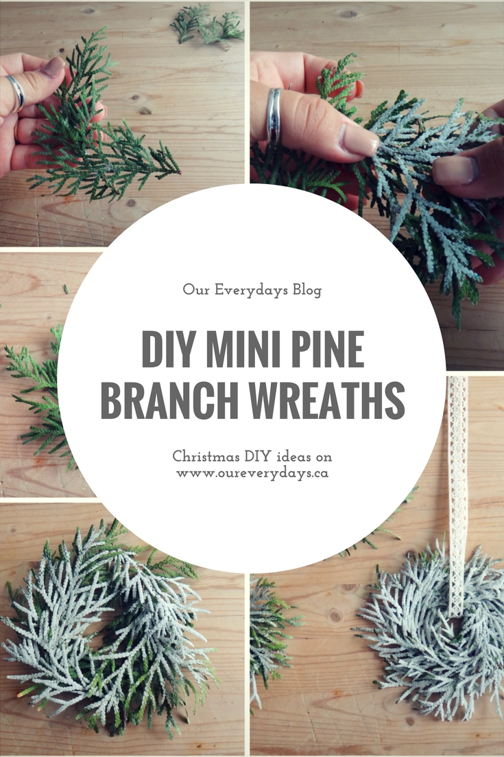 CHRISTMAS DIY WREATH OUR EVERYDAYS BLOG