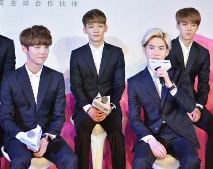 Luhan, Chen, Suho & Sehun