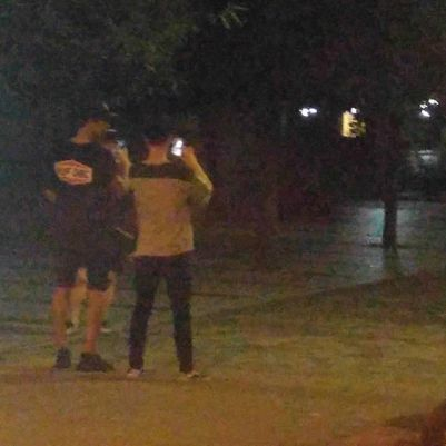 real__pcy: SuLayChan forced aerobic exercise #PokemonGo #over100 #PhotoBySunghoHyung (160813)
