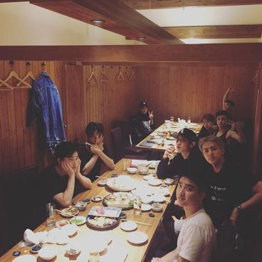 oohsehun: It's been a while since we've gathered to eat. (161002)
