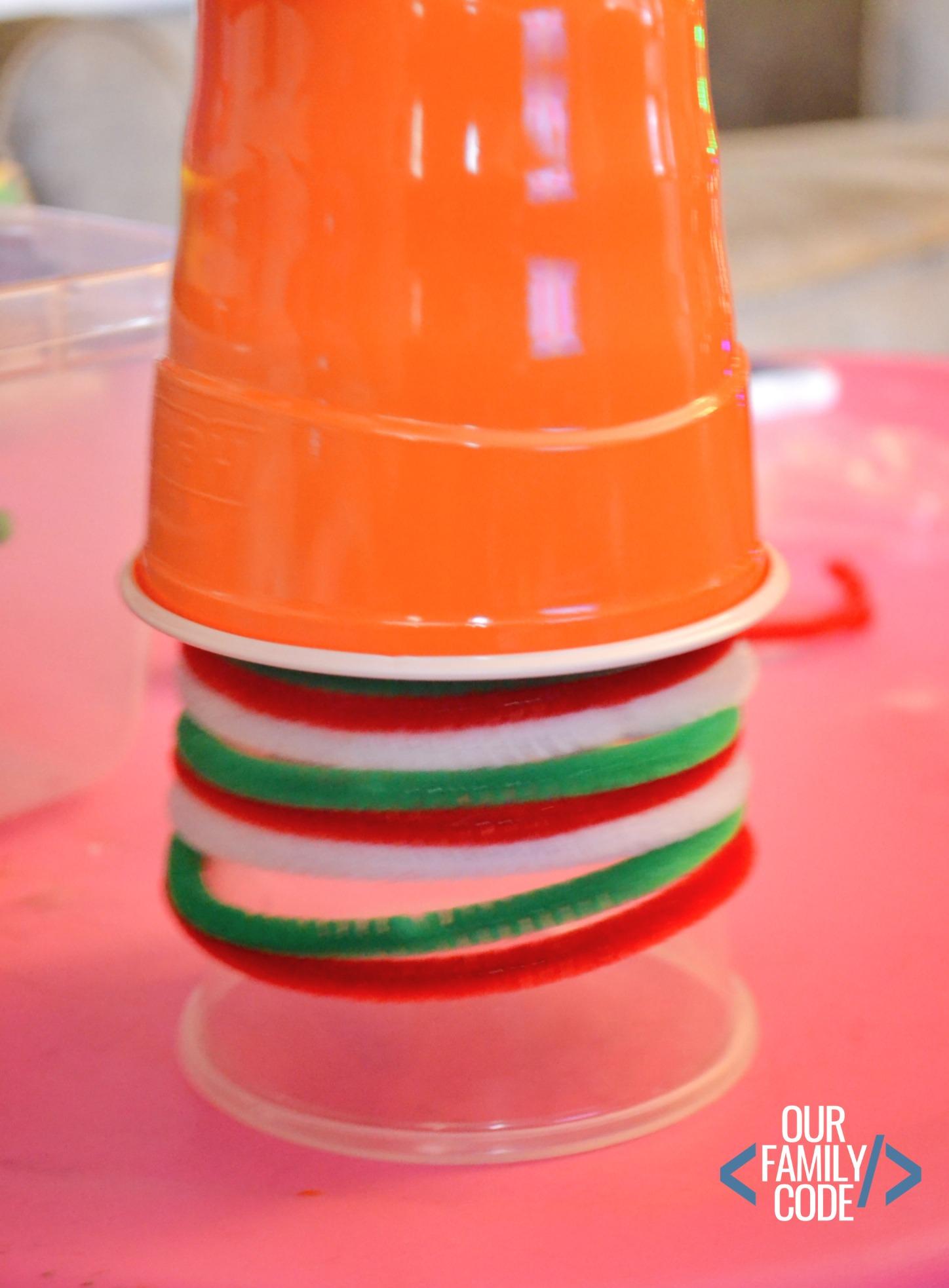 Ice Lantern States Of Water Preschool Winter Steam Activity