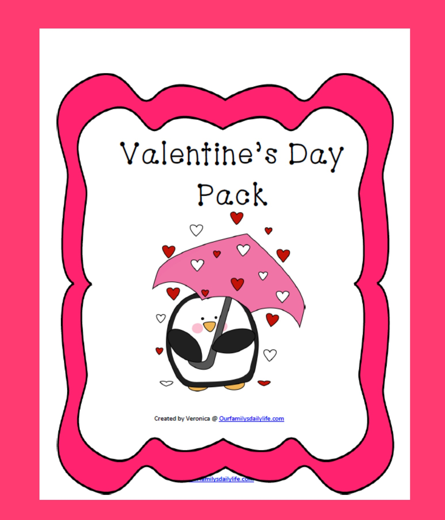 Valentine S Day Pack Freebie