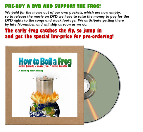 How to boil a frog dvd