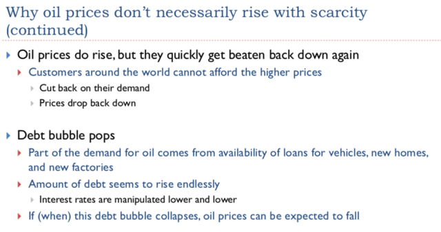 17. Why oil prices dont necessarily rise continued