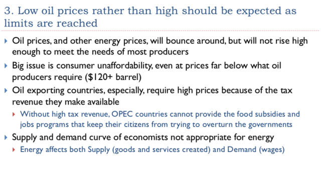 31. Low prices rather than high can be