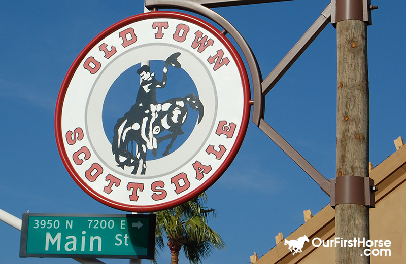 Old Scottsdale sign