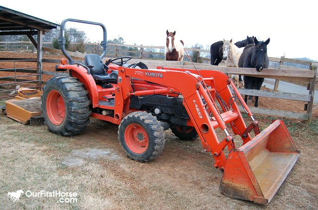 First Tractor - Kubota L5030