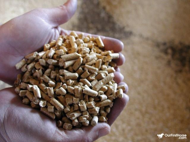 Handful of pellets
