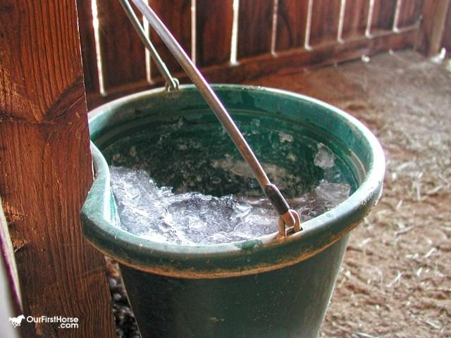 Iced bucket