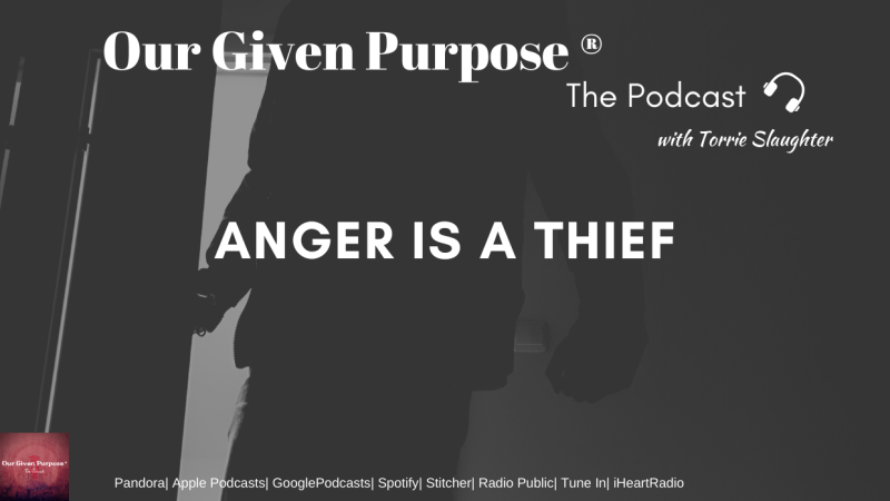 Anger is a Thief, The Podcast