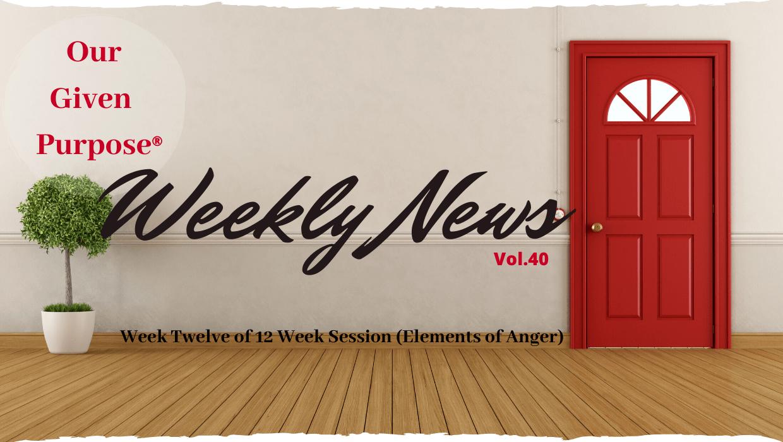 Weekly News, Vol 40