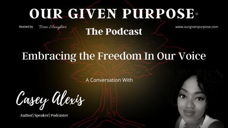 Embracing the Freedom In Our Voice A Conversation Casey Alexis