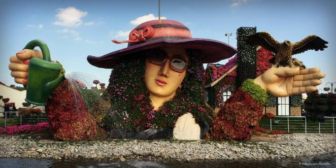 Miracle Garden Dubai - Family things to do in the UAE