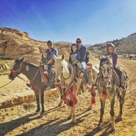 Petra with Kids - Jordan Road Trip