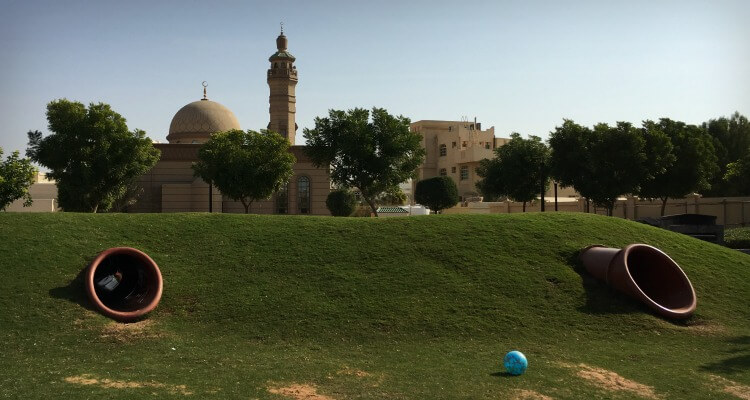 Khalifa City Hidden Parks | Our Globetrotters Family Travel & Expat Blog