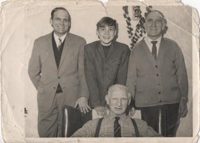 4 Generations of William Hall