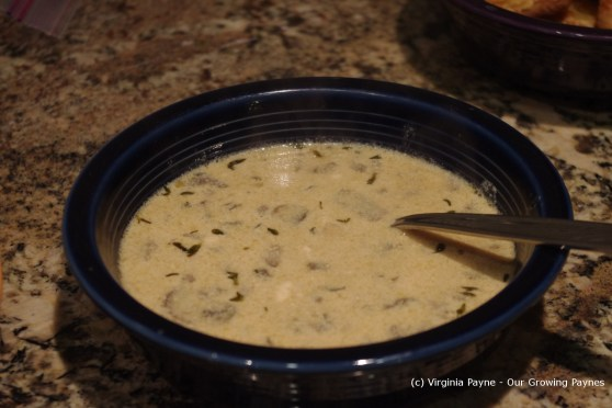 mushroom soup 7 2013