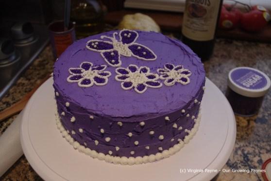 Chocolate Birthday cake 5 2013
