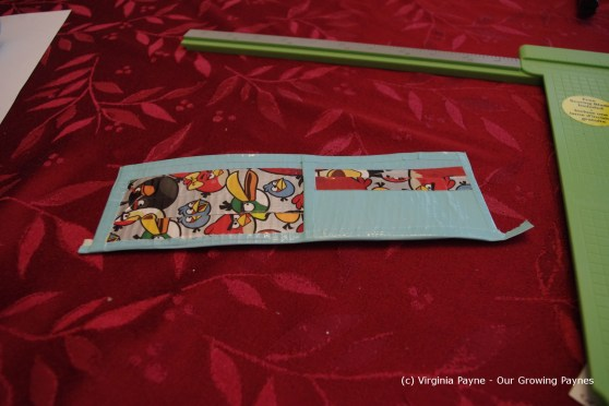 Duct tape wallet 12 2013