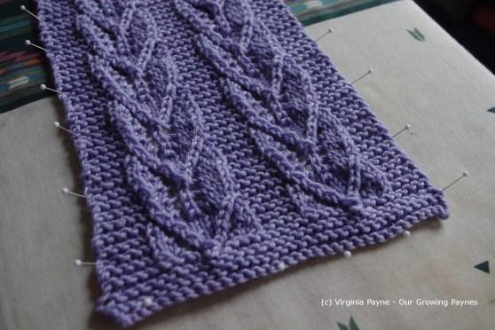 Leaf scarf 1 2013