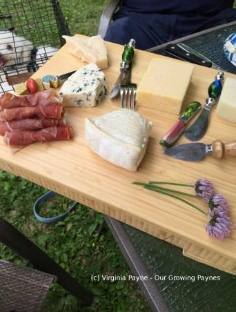 Cedar grilled salmon 8 2015