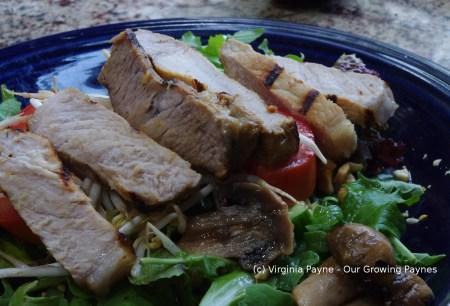 Grilled Pork Salad 4 2015