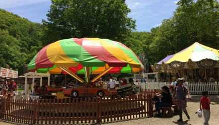 Land of Make Believe has rides geared toward the younger set.