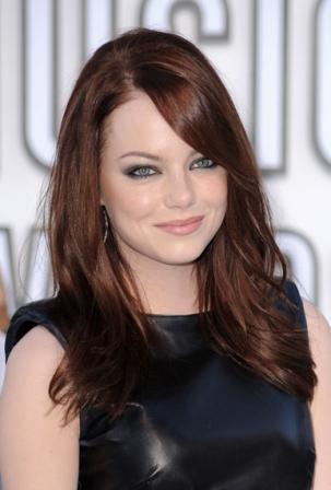 Emma Stone VMA 2010 Hairstyle
