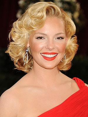 Katherine Heigl platinum blond