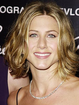 Jennifer Aniston wavy bob