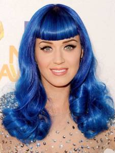 Katy Perry Blue Hair