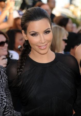 Kim Kardashian Braid Hair