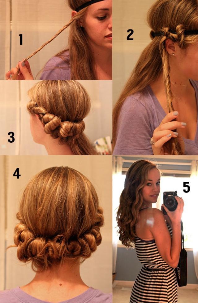 Heatless Curl