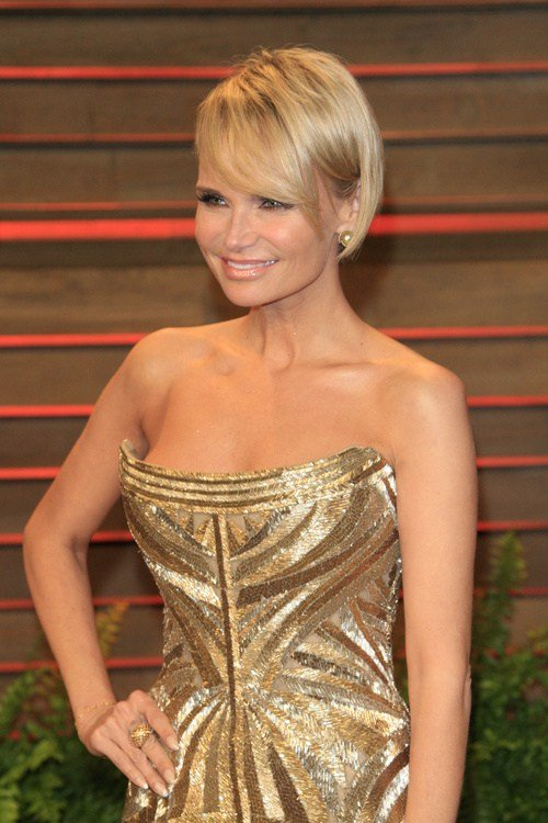 Kristin Chenoweth bob haircut for straight hair