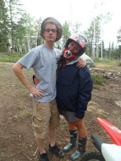 Dirt biking/camping