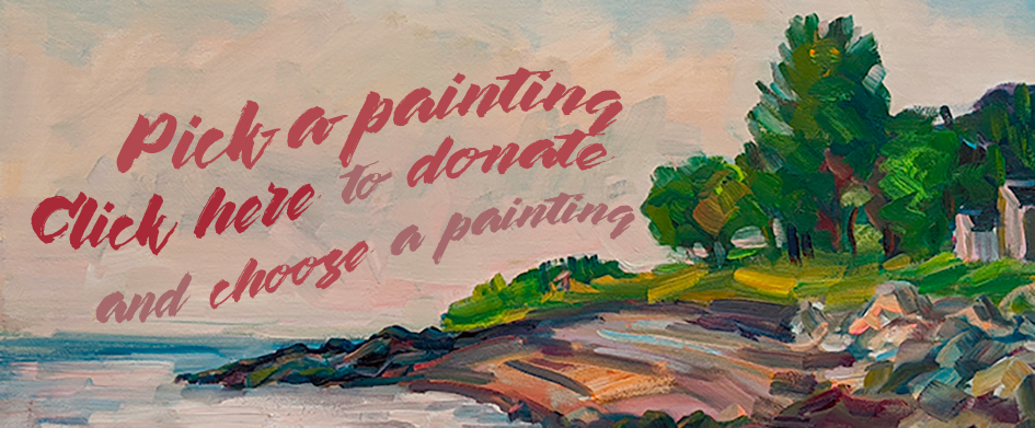 Click to Choose a painting while making a donation