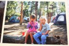 Me and a Forgotten Friend . . . I'm the one dressed like a boy