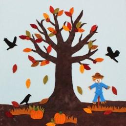 felt seasons tree22