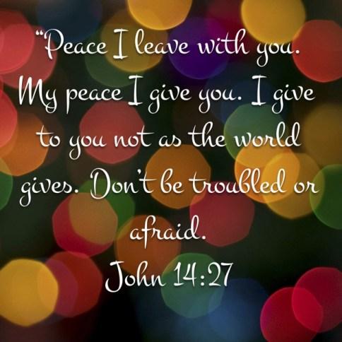 John14:27Peace